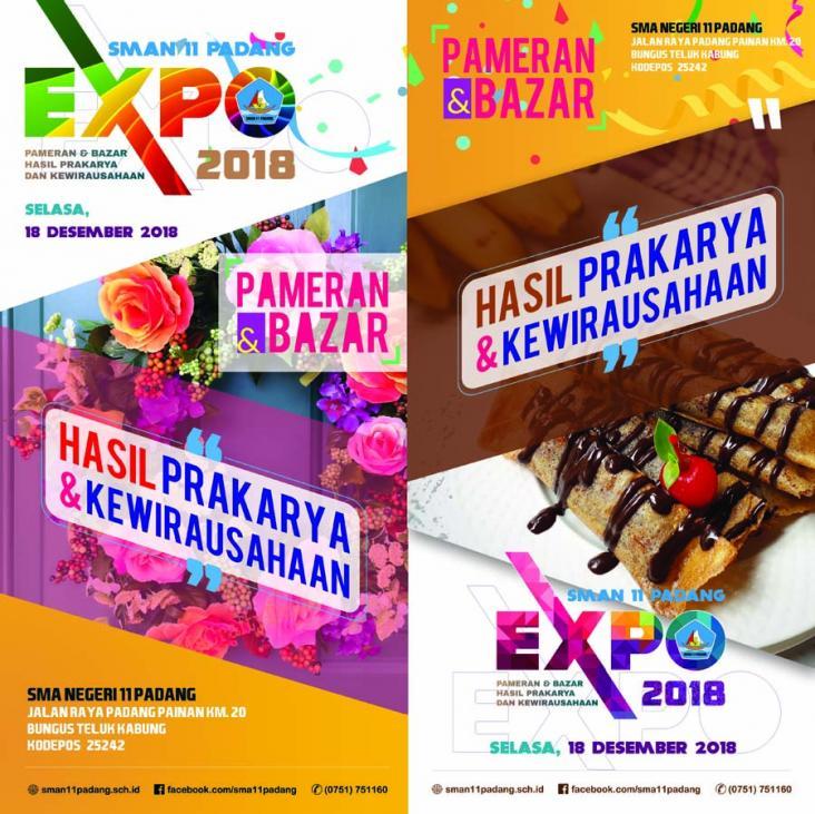 SMA Negeri 11 Padang Expo 2018