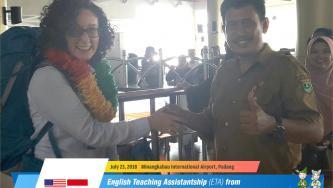 English Teaching Assistantship (ETA) from American Indonesian Exchange Foundation...