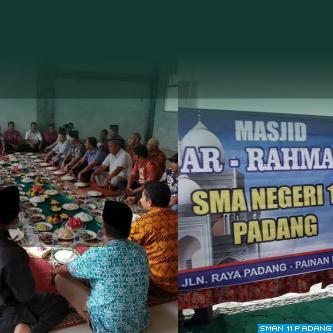 Peresmian Masjid Ar Rahman SMAN 11 Padang