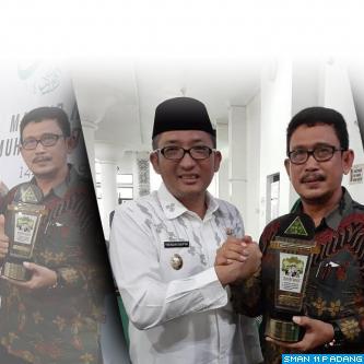 SMAN 11 Padang Juara 1 Lomba Sekolah Sehat tingkat Kota Padang