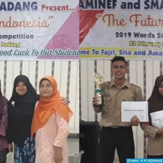 Words Storytelling Competition Aminef ETA - SMAN 11 Padang