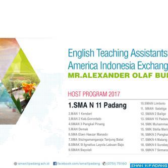 English Teaching Assistantship (ETA)